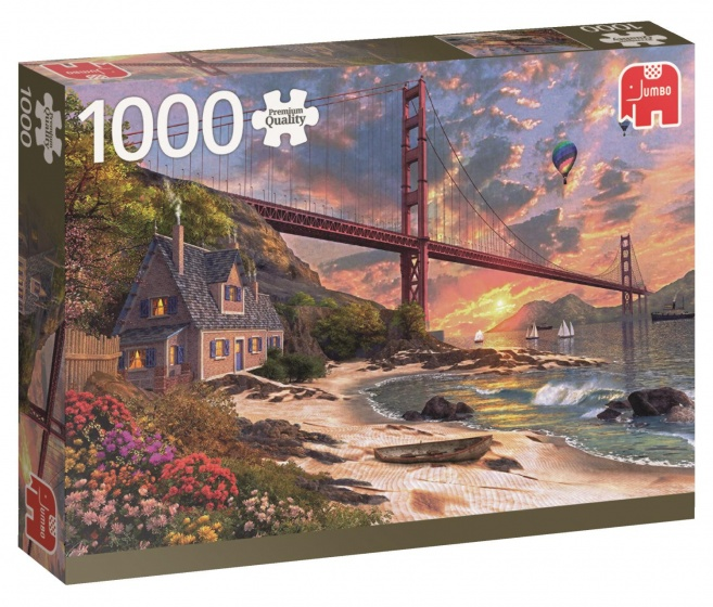 Jumbo PC Golden Gate Bridge legpuzzel 1000 stukjes
