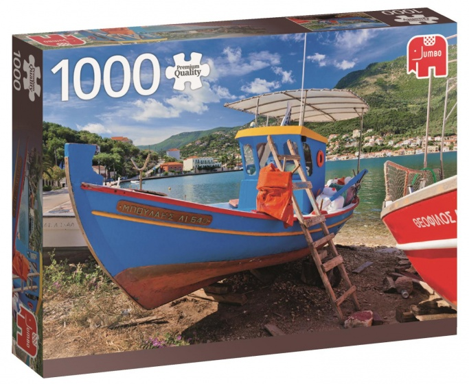 Jumbo PC Greek Lake legpuzzel 1000 stukjes
