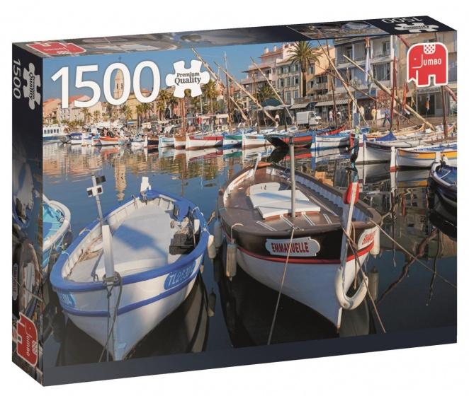 1500 Stuks Puzzel Haven van Sanary-sur-Mer