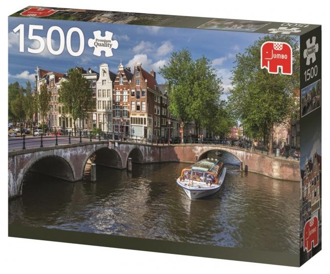 Jumbo pc herengracht amsterdam jigsaw puzzle 1500 pieces for Herengracht amsterdam