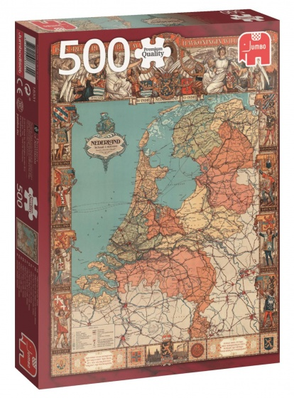 Jumbo PC Holland by Cornelis Jetses legpuzzel 500 stukjes