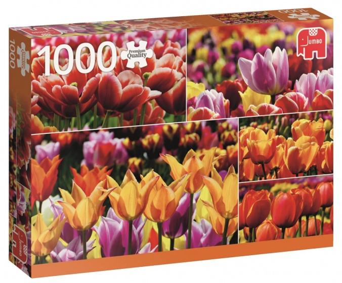 Jumbo PC Holland Tulips legpuzzel 1000 stukjes