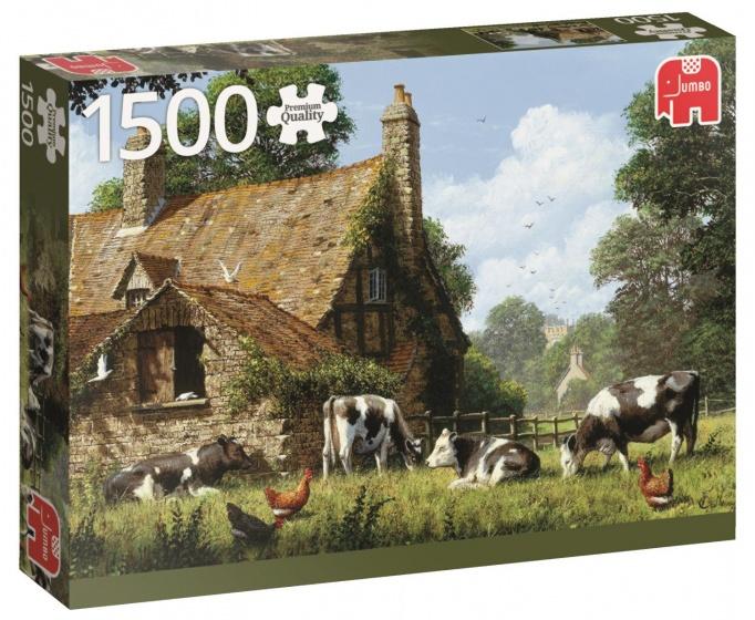 Jumbo PC Koeien bij de Boerderij legpuzzel 1500 stukjes