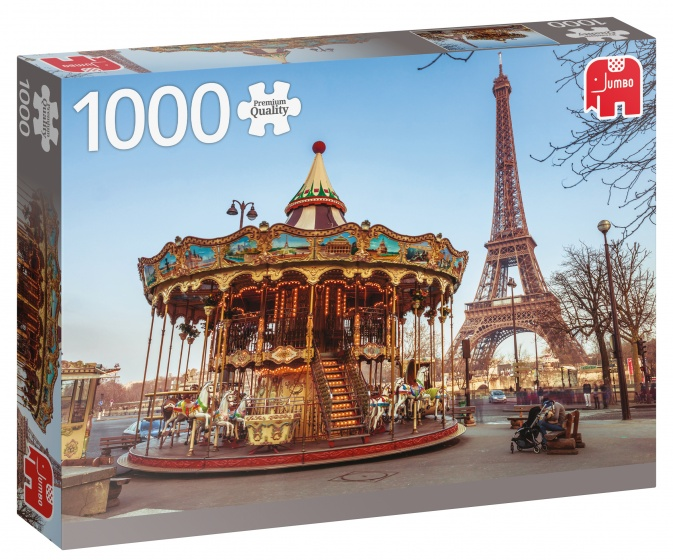 Jumbo PC Paris France legpuzzel 1000 stukjes
