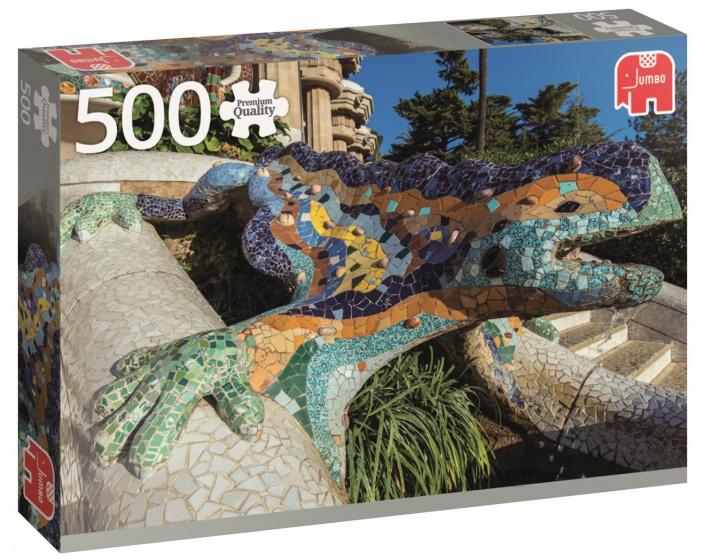 Jumbo PC Parque Guell Barcelona legpuzzel 500 stukjes
