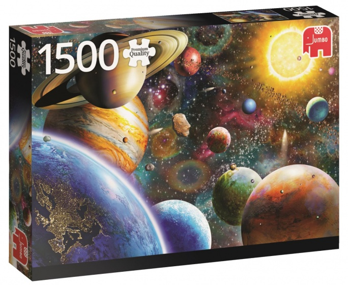 Jumbo PC Planets In Space legpuzzel 1500 stukjes