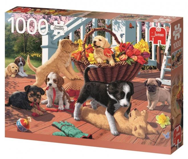 Jumbo PC Puppy Playtime legpuzzel 1000 stukjes