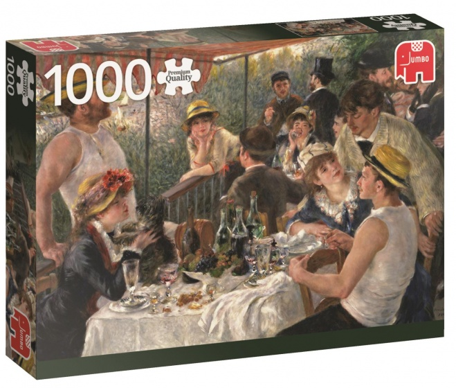 Jumbo PC RenoirLuncheon BoatingParty legpuzzel 1000 stukjes