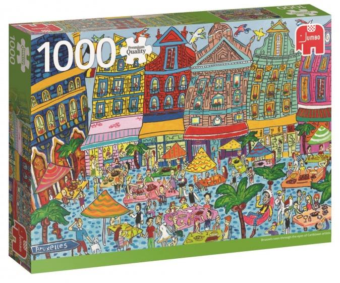 Jumbo PC Sightseeing Grand Place Brussels puzzel 1000 stukjes