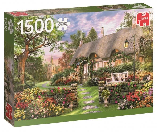 Jumbo PC Sunny Cottage legpuzzel 1500 stukjes