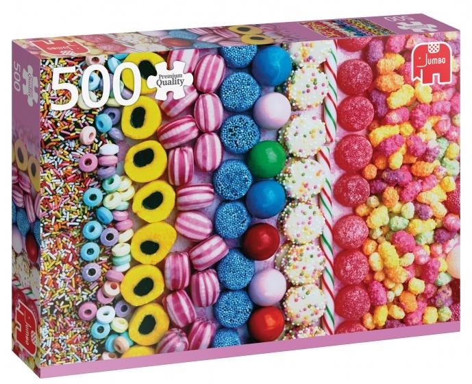 Jumbo PC Sweets legpuzzel 500 stukjes
