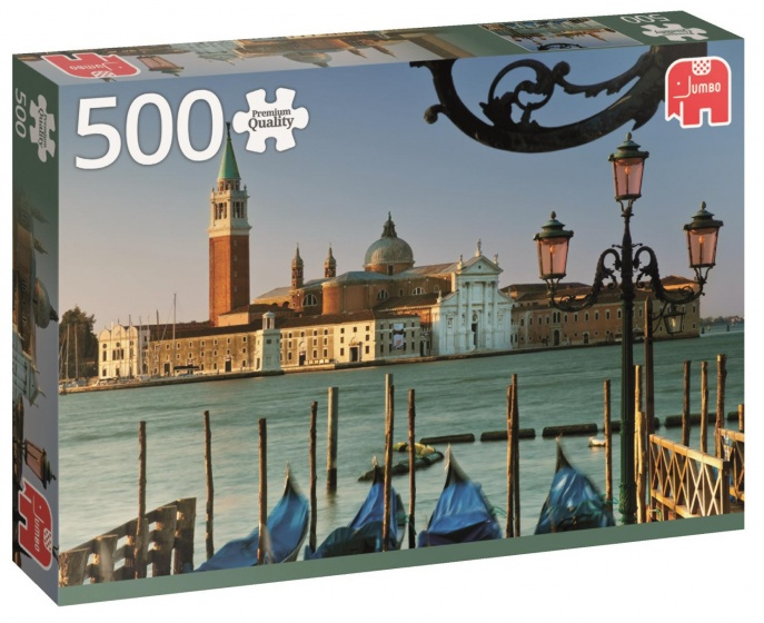Jumbo PC Veneti� Itali� legpuzzel 500 stukjes