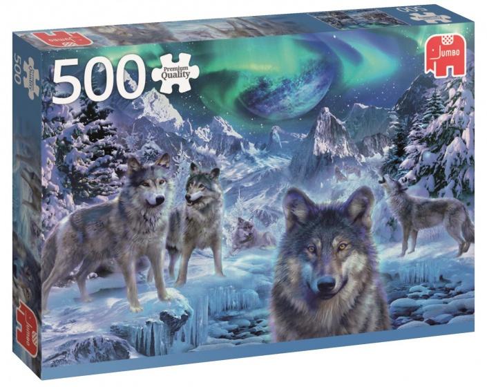 Jumbo PC Winter Wolfs legpuzzel 500 stukjes