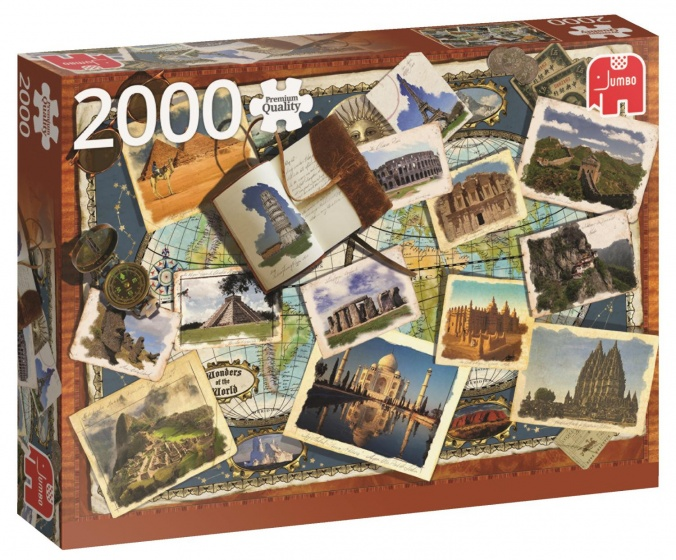 Jumbo PC Wonders Of The World legpuzzel 2000 stukjes