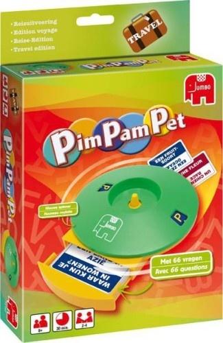 Jumbo Pim Pam Pet Reisspel