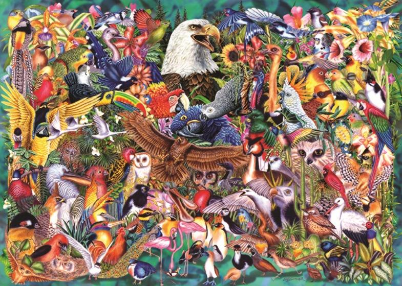 Jumbo Puzzel dierenrijk 1000 stukjes