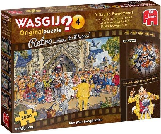 Wasgij Retro Mystery 4