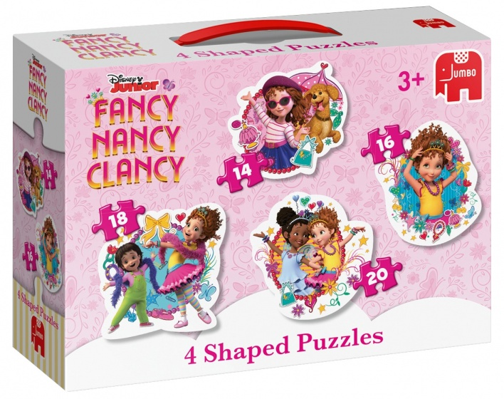 Jumbo Puzzel Fancy Nancy 4 in 1 14/16/18/20 stukjes