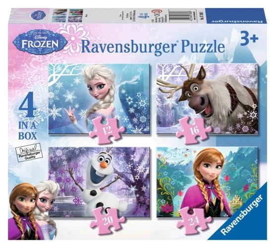 Ravensburger Puzzel Frozen 4 in 1