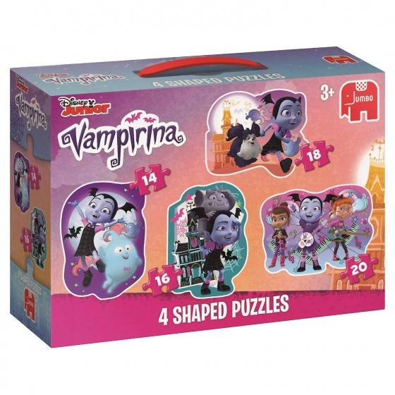 Jumbo Puzzel Vampirina 4 in 1 14/16/18/20 stukjes