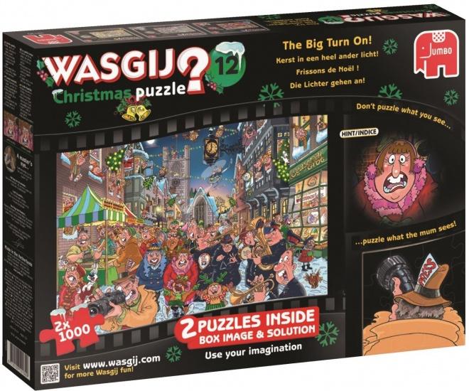 Wasgij Christmas 12 2x 1000 stukjes
