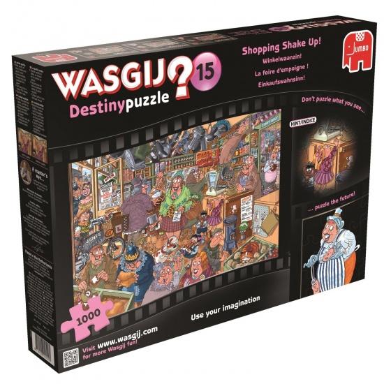 Jumbo Wasgij puzzel Destiny Shopping 1000 stukjes