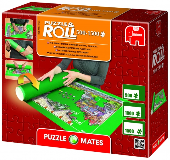 Puzzelmat, Puzzle & Roll 500-1500 stuks -