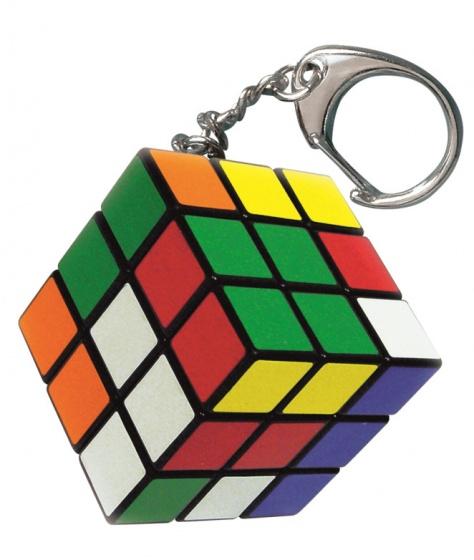 Jumbo Rubik's mini cube sleutelhanger