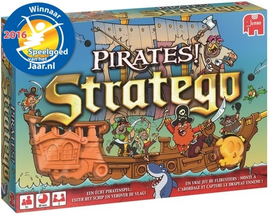 Jumbo Stratego Pirates! voor €14,98