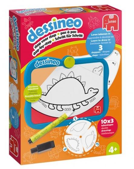 Jumbo tekenbord Dessineo Doodle