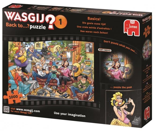 Jumbo Wasgij Back to� puzzel Die goeie ouwe tijd! 1000 stukjes
