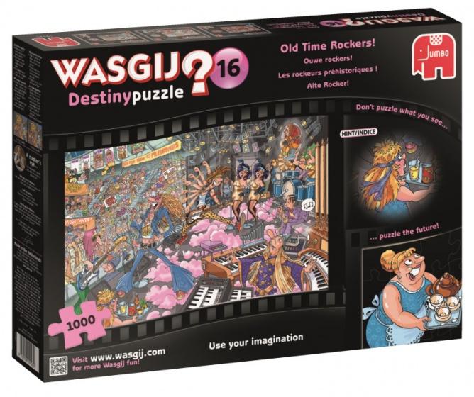 Puzzel Wasgij Destiny 16: Ouwe Rockers 1000 stukjes
