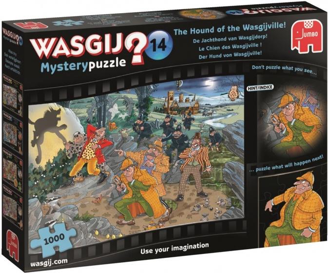 Wasgij? Mystery 14: De Jachthond van Wasgijdorp