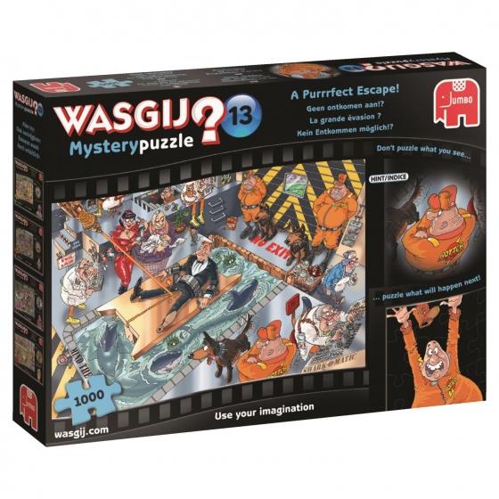 Jumbo Wasgij Mystery 13 puzzel geen ontkomen aan 1000 stukjes