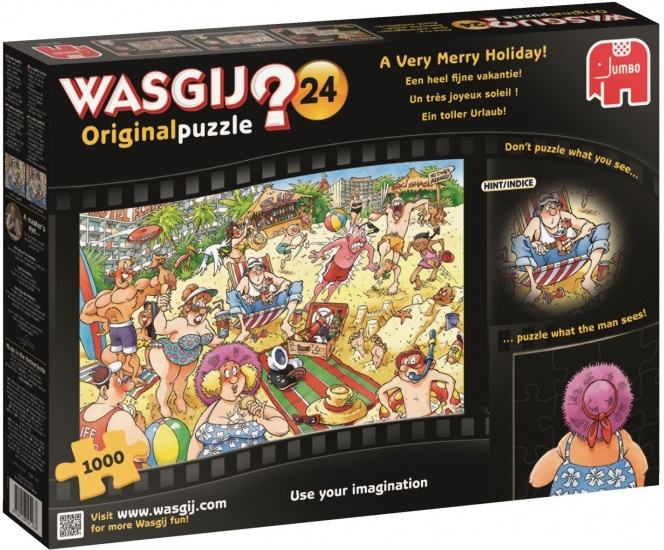 Jumbo Wasgij Original 24: Fijne Vakantie 1000 stukjes