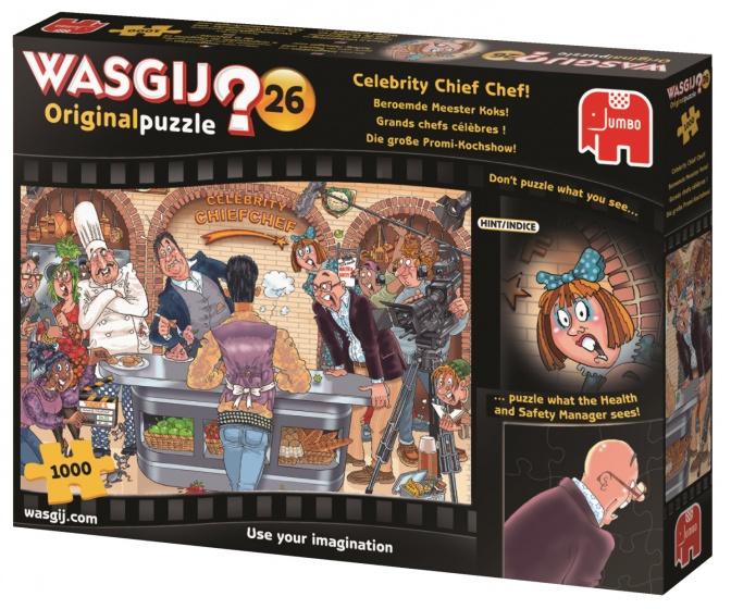 Wasgij? Original 26: Beroemde meester koks! Puzzel