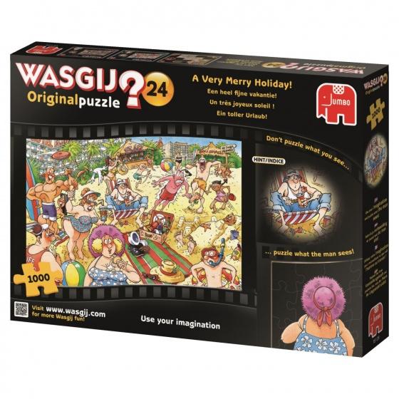Puzzel Wasgij 24 Een Hele Fijne Vakantie 1000 St