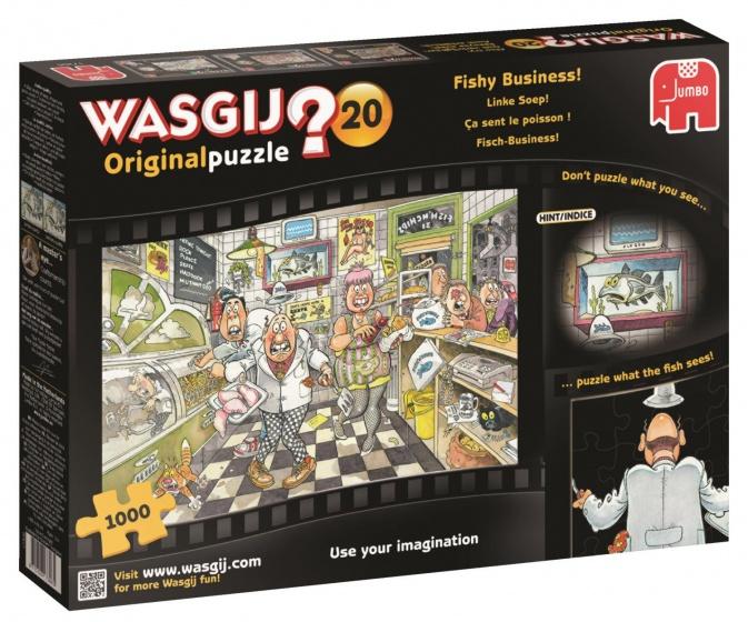 Jumbo Wasgij Original 20 Viswinkel (1000 stukjes)