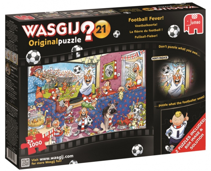 Jumbo Wasgij Original puzzel 21 Football Fever -