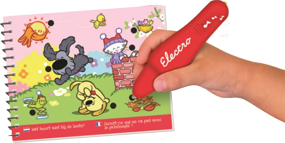 Woezel & Pip Electro Wonderpen learning game
