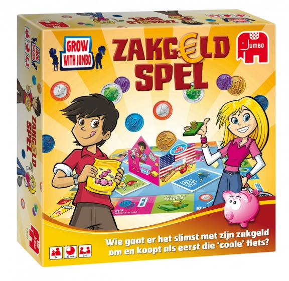 Jumbo Zakgeldspel kinderspel