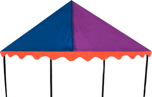 trampoline tent Canopy circus 1.83 x 2.74 metres