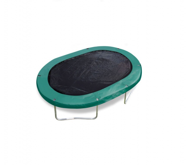 trampoline cover black oval 4,27 x 5,18 meter