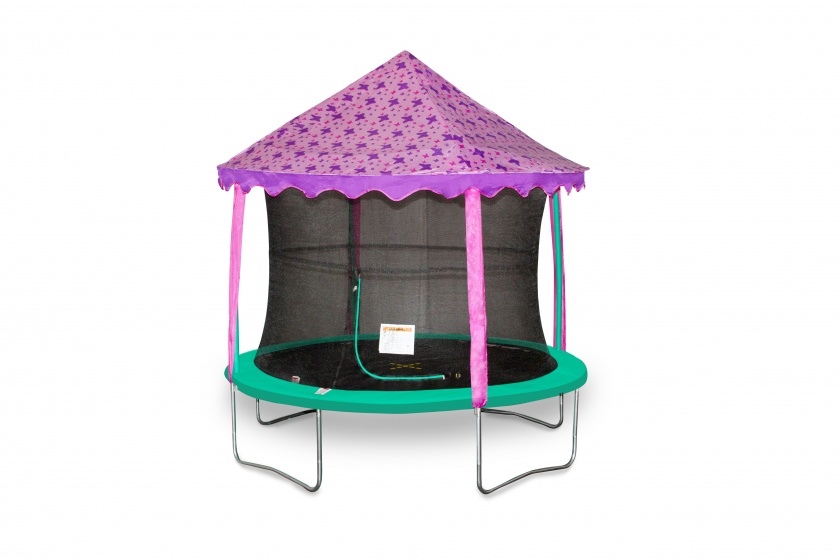 Jumpking trampoline Canopy tent vlinders 3,66 meter paars