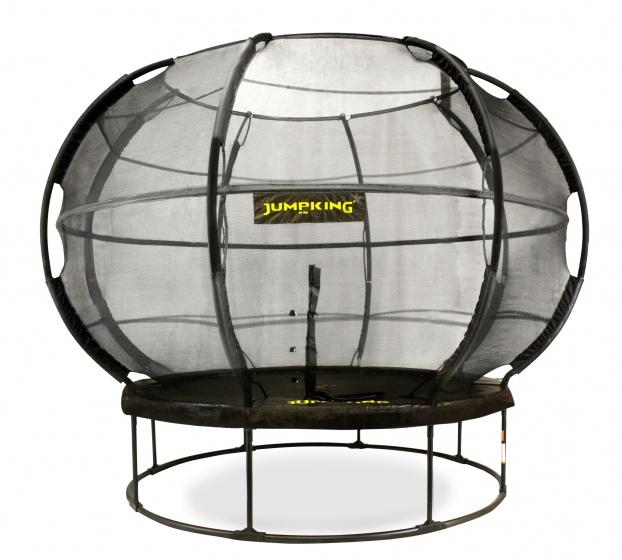 Jumpking trampoline met net en ladder ZorbPOD 366 cm blauw
