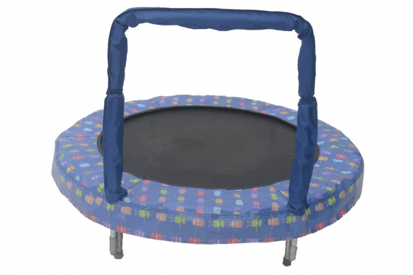 trampoline Mini Bouncerrobot 121 cm blue
