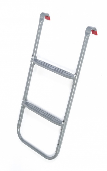 trampoline ladder Deluxe87-95 cm silver