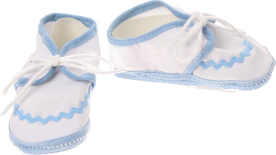 Junior Joy babyschoenen Newborn junior wit/lichtblauw kopen