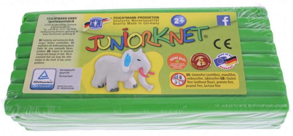 Feuchtmann Juniorknet Klei Jumbo Pack 500 gram Groen