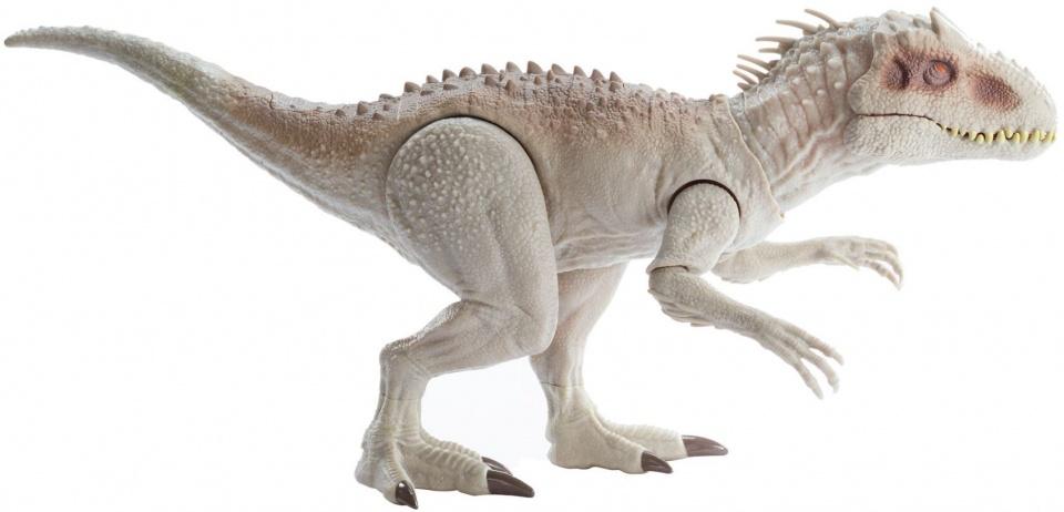 Jurassic World dinosaurus met geluid beige 59 cm kopen